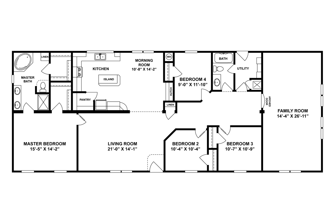 The 4777 LEGACY Floor Plan