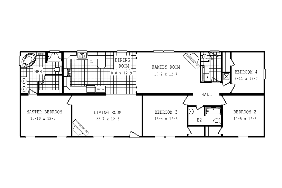 The 2775 LEGACY Floor Plan